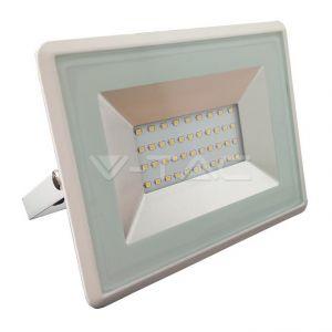 V-TAC Projecteur LED 30W (150W) Blanc -- Blanc Neutre 4000K | Blanc - Blanc Neutre (4000K)