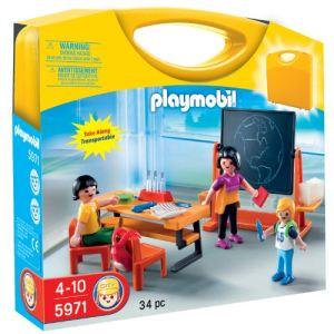 Playmobil 5971 - Valisette maîtresse et élèves