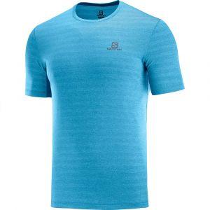 Salomon T-Shirt XA TEE M Bleu Bleu - Homme