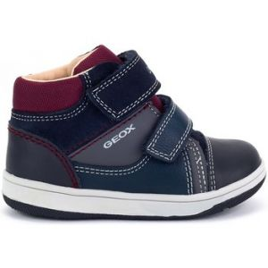 Geox B New Flick B, Sneakers Basses bébé garçon, Bleu (Navy/Grey C0661), 23 EU