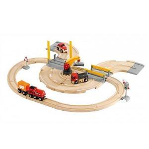 Brio 33208 - Circuit Transfert de marchandises rail / route