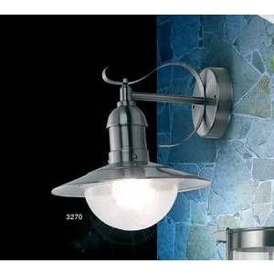 Globo Lighting Lampe d'extérieur Globo MIXED Acier inoxydable, 1 lumière Moderne/Design/Classique Extérieur MIXED