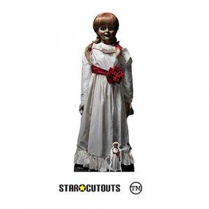 Star Cutouts Figurine en carton Annabelle Doll poupée 129 cm