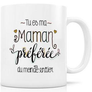 Label'tour Mug céramique Maman Préférée Créa Bisontine