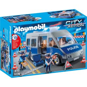 Playmobil 9236 - City Action : Fourgon de policiers