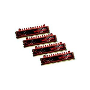 G.Skill F3-8500CL7Q-16GBRL - Barrettes mémoire Ripjaws 4 x 4 Go DDR3 1066 MHz CL7 Dimm 240 broches