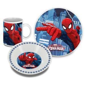 Set repas 3 pieces céramique Spiderman
