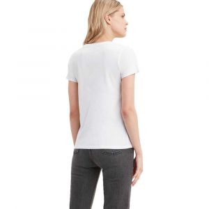 Levi's Sportswear Logo Graphic, T-Shirt Femme - Blanc (90's Serif T2 White+ 0781) - Small