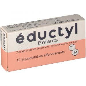 Techni pharma éductyl Enfants - 12 Suppositoires