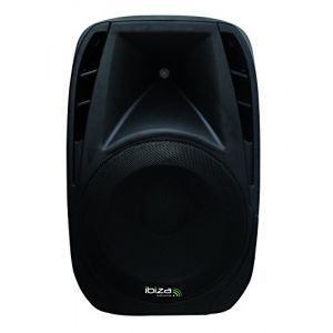 "Ibiza Sound Enceinte Active amplifiée portable 10"" 250W USB SD Bluetooth"
