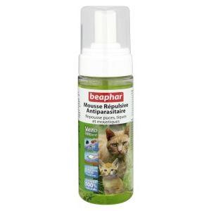 Beaphar Mousse répulsive antiparasitaire pour chats et chatons (150 ml)
