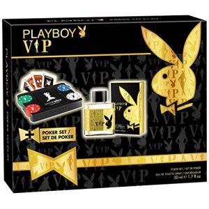 Playboy VIP - Coffret eau de toilette et jeu de poker