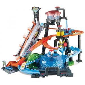 Mattel Hot Wheels Piste Station de lavage ultime
