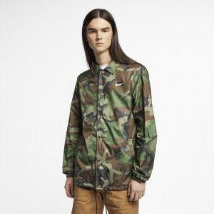 Nike Chaussure de Skateboard Veste de skateboard camouflage SB pour Homme - Olive - Couleur Olive - Taille S