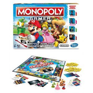Hasbro Monopoly Gamer Mario Edition Anglais