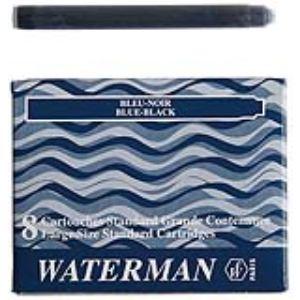 Waterman Etui de 8 cartouches pour stylo à plume