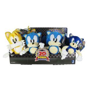 8 peluches Sonic 18 cm