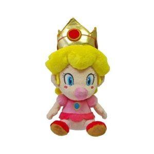 Peluche bébé Peach Super Mario Kart 15 cm