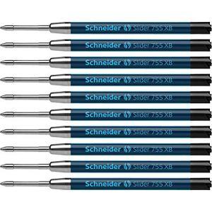 Schneider Electric Recharge pour stylo bille Slider 755 XB - encre viscoglide noir