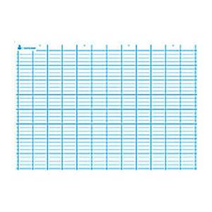 Artline Carte Seyès simple. En polypro 5/10è effaçable à sec format 70x100cm