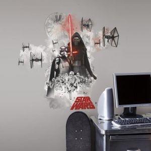 Room Studio 539136 - 3 stickers muraux repositionnables Star Wars 7