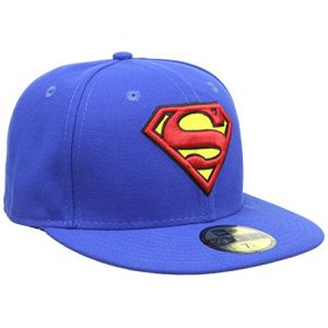 New era 59 Fifty Superman - Blue / Red / Yellow - Taille 8