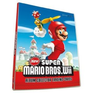 Jouceo Album d'images autocollantes Mario
