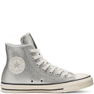 Converse All Star - Hi chaussures Femmes argent T. 37,5