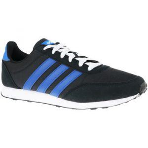 Adidas V Racer 2.0, Chaussures de Running Homme, Noir (Core Black/Collegiate Royal/Footwear White 0), 43 1/3 EU