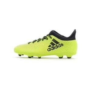 separation shoes 20fce b7622 Adidas X 17.3 FG, Chaussures de Football Mixte enfant, Jaune (Amasol Tinley