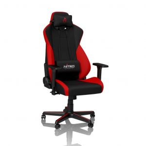 Nitro Concepts S300 - Rouge - Fauteuil / Siege Gamer
