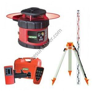 Metrica Pack Laser Automatique Rotatif Rotativo H + Trépied et Mire
