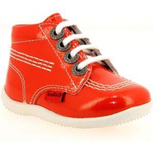 Kickers Billista, Chaussures Bébé Marche bébé fille, Orange (Orange Clair), 22 EU