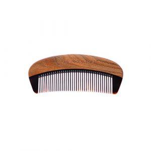 Beardilizer Peigne à barbe - Bois de Santal et Corne de Buffle