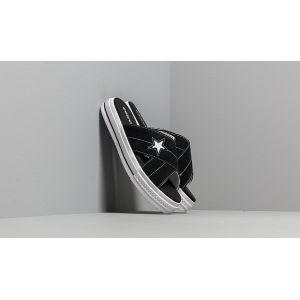Converse Baskets cuir suédé One Star Sandal Suede Noir/Blanc - Taille 36;37;38;39;40;41