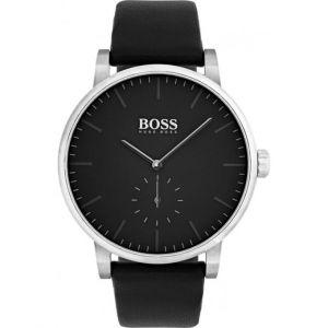 Hugo Boss 1513500 - Montre pour homme avec bracelet en cuir