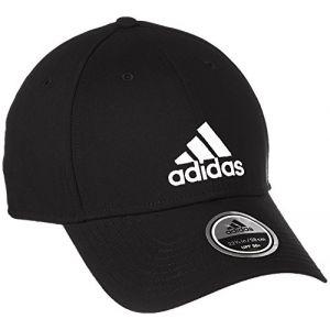 Adidas S98159 Casquette Homme, Noir/Noir/Blanc, FR : (Taille Fabricant :)