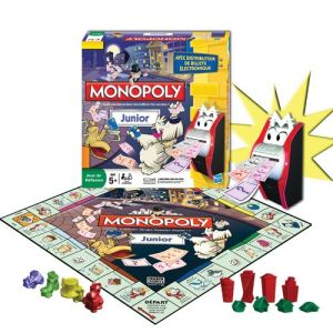 Image de Hasbro Monopoly Junior électronique
