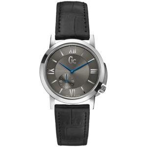 Guess X59003G5S - Montre pour homme avec bracelet en cuir