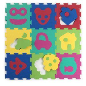 Baby to Love Dalles d'éveil en mousse Puzzle