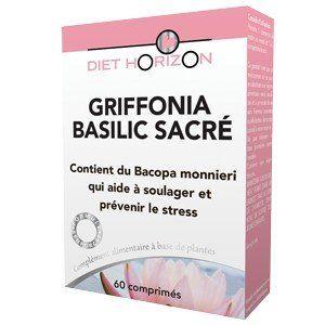 Diet Horizon Griffonia Basilic Sacré Action 24h - 60 comprimés