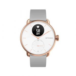 Withings Montre santé SCANWATCH ROSE GOLD 38MM