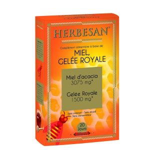 Herbesan Gelée Royale 1 500 mg - 20 ampoules