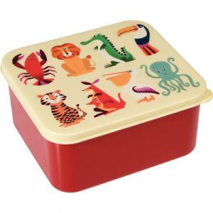 Rex London Boîte à goûter Créatures colorées