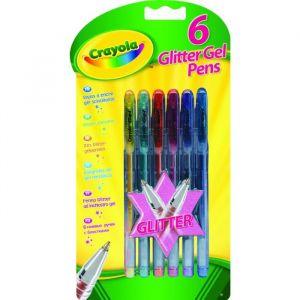 Crayola 6 stylos à encre gel