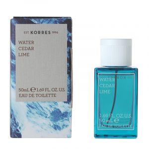 Korres Water Cedar Lime - Eau de toilette pour homme