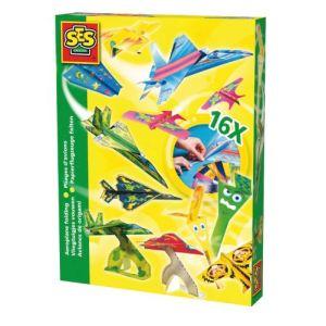 Ses Creative Origami papier à plier : Avions