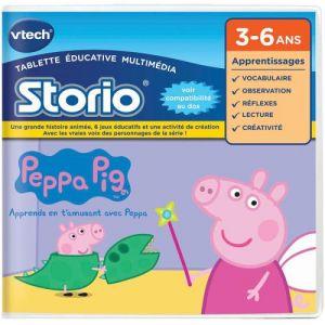 Vtech Jeu tablette Storio : Peppa Pig