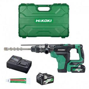 Hikoki Perfo burineur SDS-Max 36V 4Ah Multivolt - DH36DMAWAZ - HITACHI