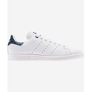 Adidas Stan Smith Blanche Et Bleue Léopard Femme 37 Baskets